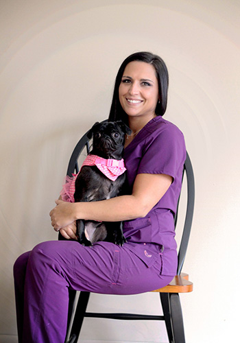carrie at wooster animal clinice